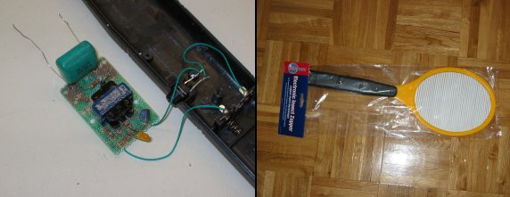 The Professor's Homebuilt Lasers Site - Notes on High Voltage on