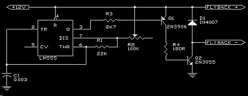 the professor's homebuilt lasers site notes on high voltage LED Power Supply Wiring Diagram ionizer transormer dc power supply wiring diagram  #50 Xbox 360 Power Supply Wiring Diagram