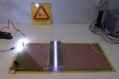 The Professor's Homebuilt Lasers Site - Nitrogen Laser